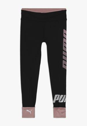 MODERN SPORT - Leggings - puma black/bridal rose