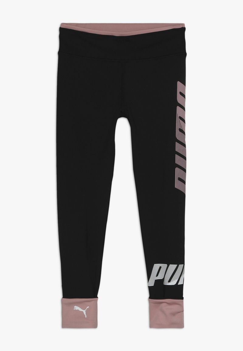 Puma - MODERN SPORT - Tights - puma black/bridal rose