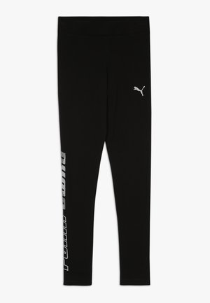 ALPHA  - Leggings - Trousers - puma black