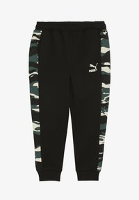 Puma - PUMA X ZALANDO TAPERED PANTS - Trainingsbroek - black - 2