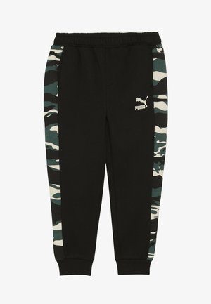 PUMA X ZALANDO TAPERED PANTS - Pantaloni sportivi - black