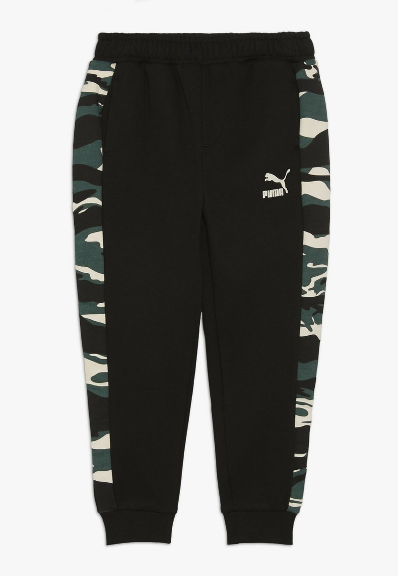 Puma - PUMA X ZALANDO TAPERED PANTS - Trainingsbroek - black