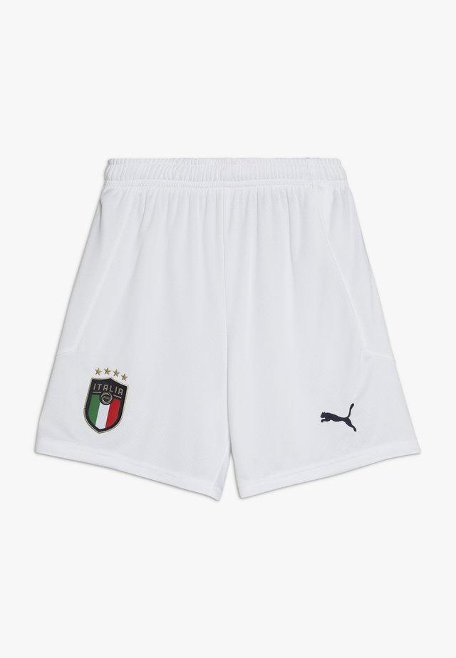 ITALIEN FIGC HOME & AWAY SHORTS - Korte sportsbukser - white