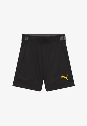 SHORTS - Sports shorts - puma black/ultra yellow