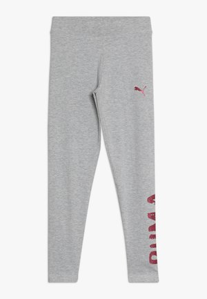 ALPHA - Leggings - Trousers - light gray heather