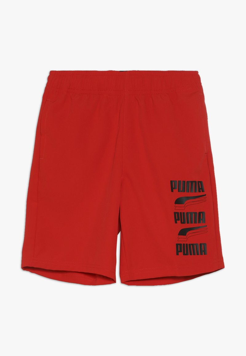 Puma - REBEL BOLD SHORTS  - Sportovní kraťasy - high risk red