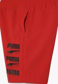 Puma - REBEL BOLD SHORTS  - Sportovní kraťasy - high risk red - 3