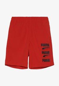 Puma - REBEL BOLD SHORTS  - Sportovní kraťasy - high risk red - 2