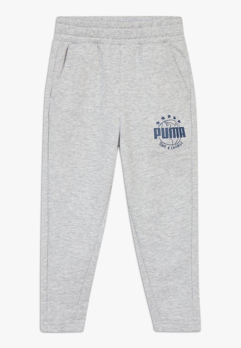 Puma - Pantalon de survêtement - light gray heather