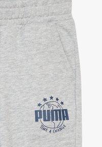 Puma - Pantalon de survêtement - light gray heather - 4