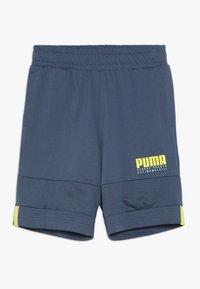 Puma - ALPHA SHORTS - kurze Sporthose - dark denim - 0