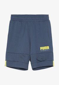 Puma - ALPHA SHORTS - kurze Sporthose - dark denim - 2