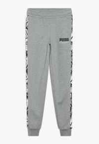 Puma - ALPHA PANTS - Pantalon de survêtement - medium gray heather - 0