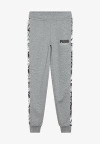 Puma - ALPHA PANTS - Pantalon de survêtement - medium gray heather - 3