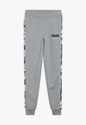 ALPHA PANTS - Teplákové kalhoty - medium gray heather