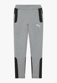 Puma - EVOSTRIPE PANTS - Pantalon de survêtement - medium gray heather - 0