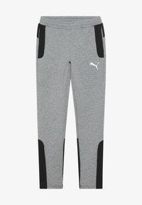Puma - EVOSTRIPE PANTS - Pantalon de survêtement - medium gray heather - 2