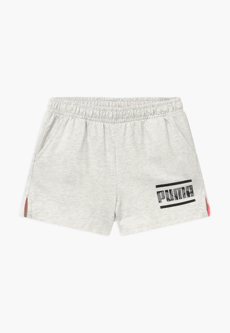 Puma - ALPHA SHORTS - Pantalón corto de deporte - white
