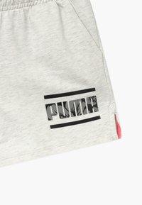 Puma - ALPHA SHORTS - Pantalón corto de deporte - white - 3