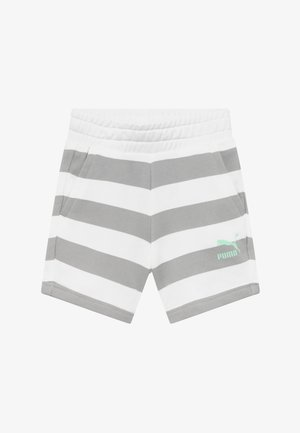 TIME FOR CHANGE SHORTS - Pantalón corto de deporte - light grey/white