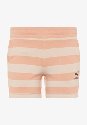 TIME FOR CHANGE SHORTS - Pantaloncini sportivi - pink/sand