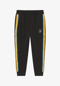 Puma - PUMA X ZALANDO TAPE - Tracksuit bottoms - black