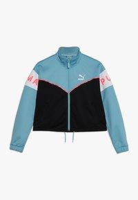Puma - TRACK JACKET - Sportovní bunda - milky blue - 0