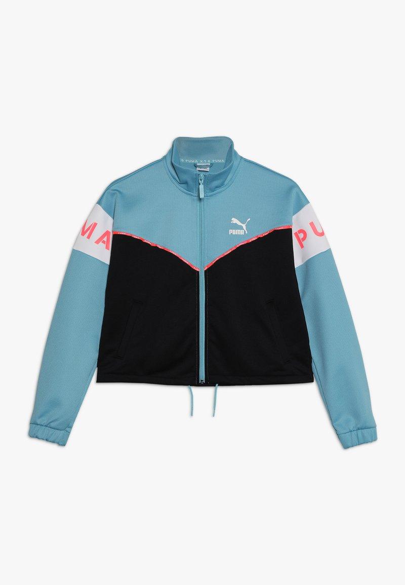 Puma - TRACK JACKET - Sportovní bunda - milky blue