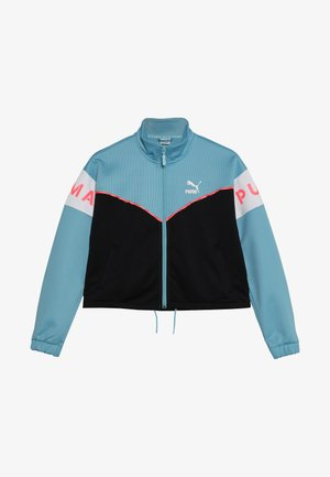 TRACK JACKET - Training jacket - milky blue