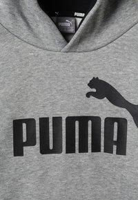 Puma - LOGO HOODY  - Hoodie - medium gray heather - 2