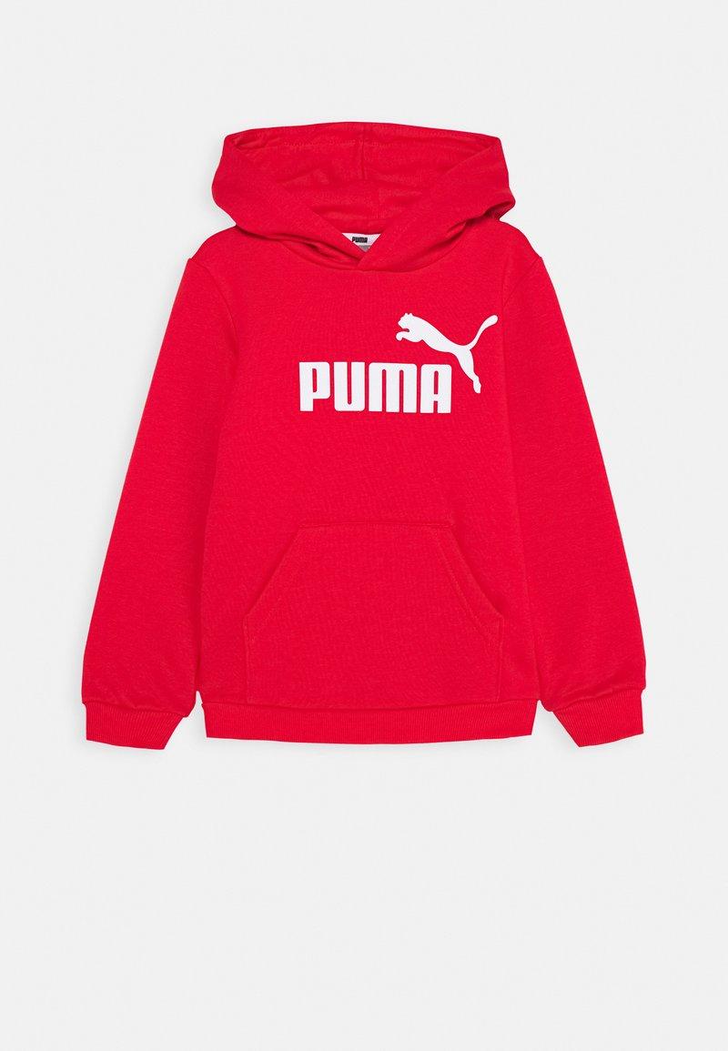 Puma - LOGO HOODY  - Sweat à capuche - high risk red