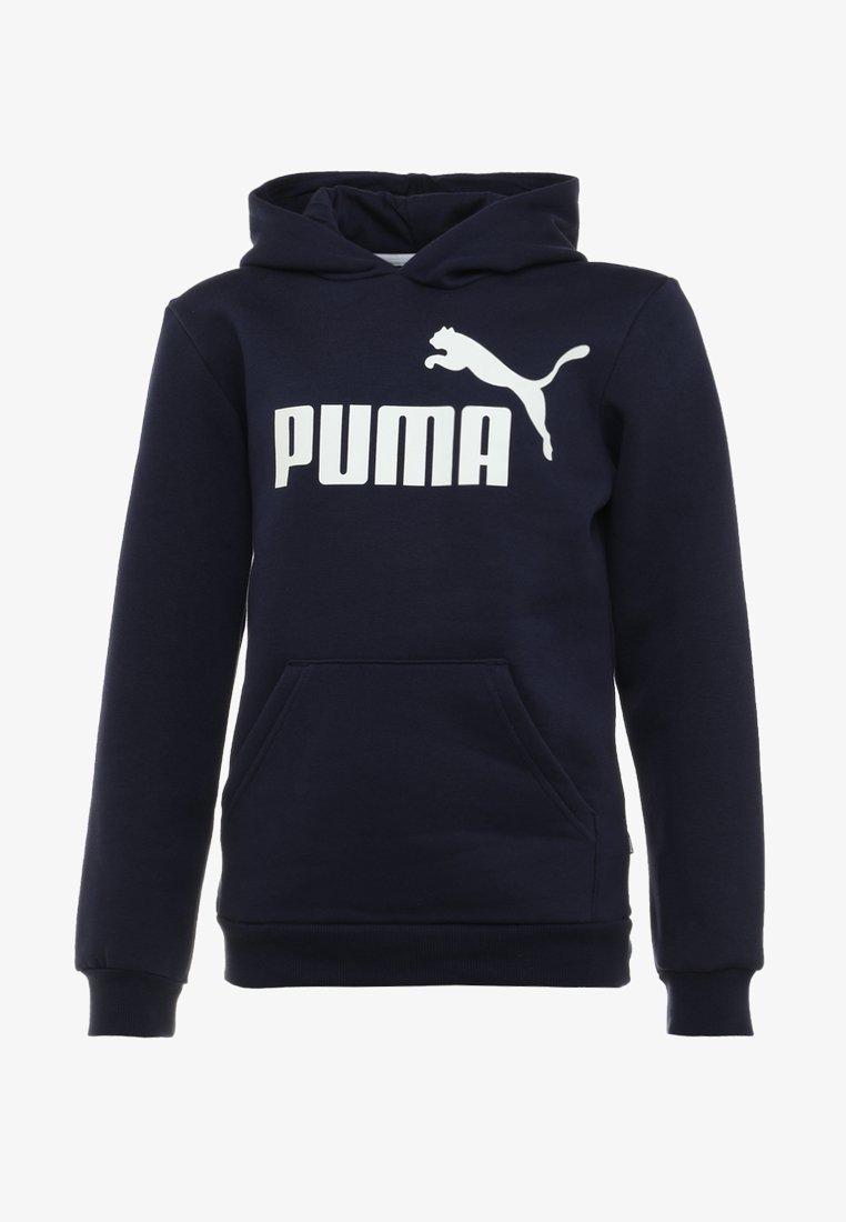 Puma - LOGO HOODY  - Sweat à capuche - peacoat