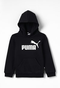 Puma - LOGO HOODY  - Sweat à capuche - cotton black - 0