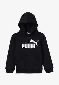 Puma - LOGO HOODY  - Sweat à capuche - cotton black - 3