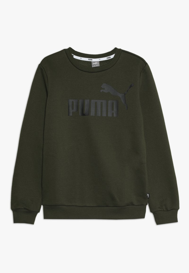 Puma - LOGO CREW - Sweatshirt - forest night