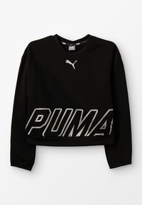 Puma - ALPHA CREW  - Sweatshirt - black - 0