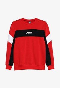 Puma - REBEL CREW - Sweatshirts - high risk red - 3