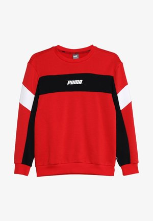 REBEL CREW - Sweatshirt - high risk red