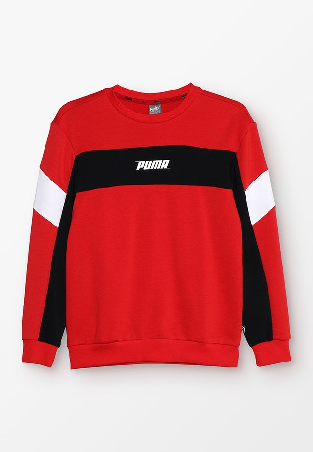 REBEL CREW - Sweatshirts - high risk red