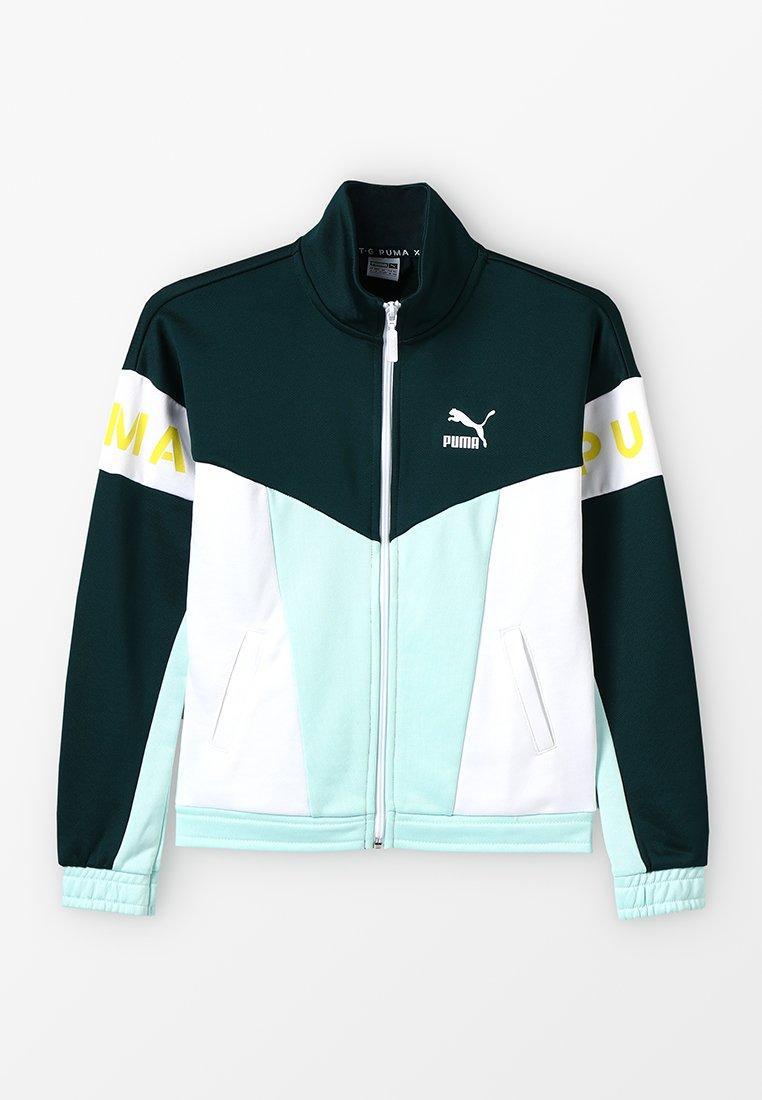 Puma - XTG TRACK JACKET - Zip-up hoodie - fair aqua