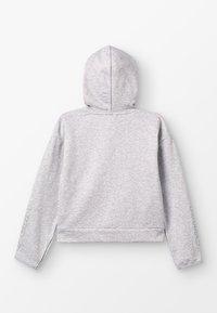 Puma - ALPHA HOODY - Zip-up hoodie - light gray heather - 1