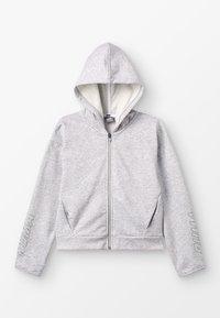 Puma - ALPHA HOODY - Zip-up hoodie - light gray heather - 0