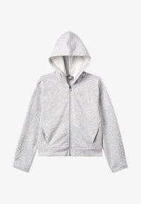 Puma - ALPHA HOODY - Zip-up hoodie - light gray heather - 3