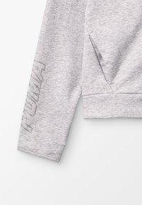 Puma - ALPHA HOODY - Zip-up hoodie - light gray heather - 2