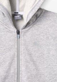 Puma - ALPHA HOODY - Zip-up hoodie - light gray heather - 4
