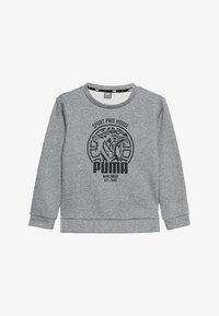 Puma - ALPHA GRAPHIC CREW - Sweatshirt - medium gray heather - 3