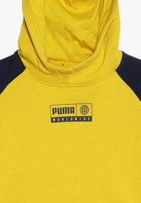 Puma - ALPHA ADVANCED HOODY - Jersey con capucha - sulphur - 4