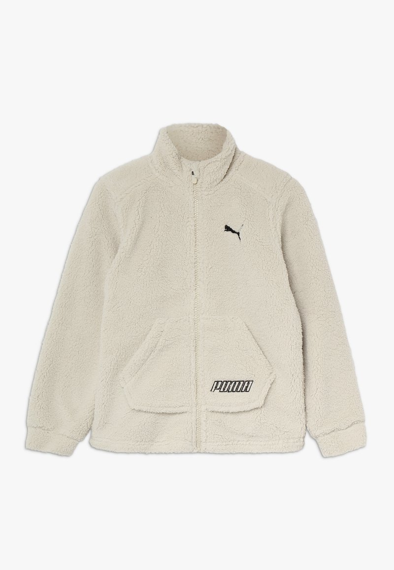 Puma - ALPHA  JACKET  - Giacca in pile - overcast