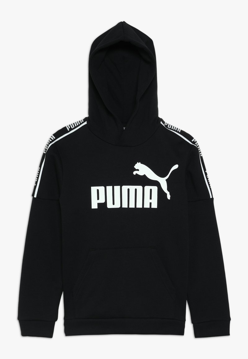 Puma - AMPLIFIED HOODY  - Kapuzenpullover - black