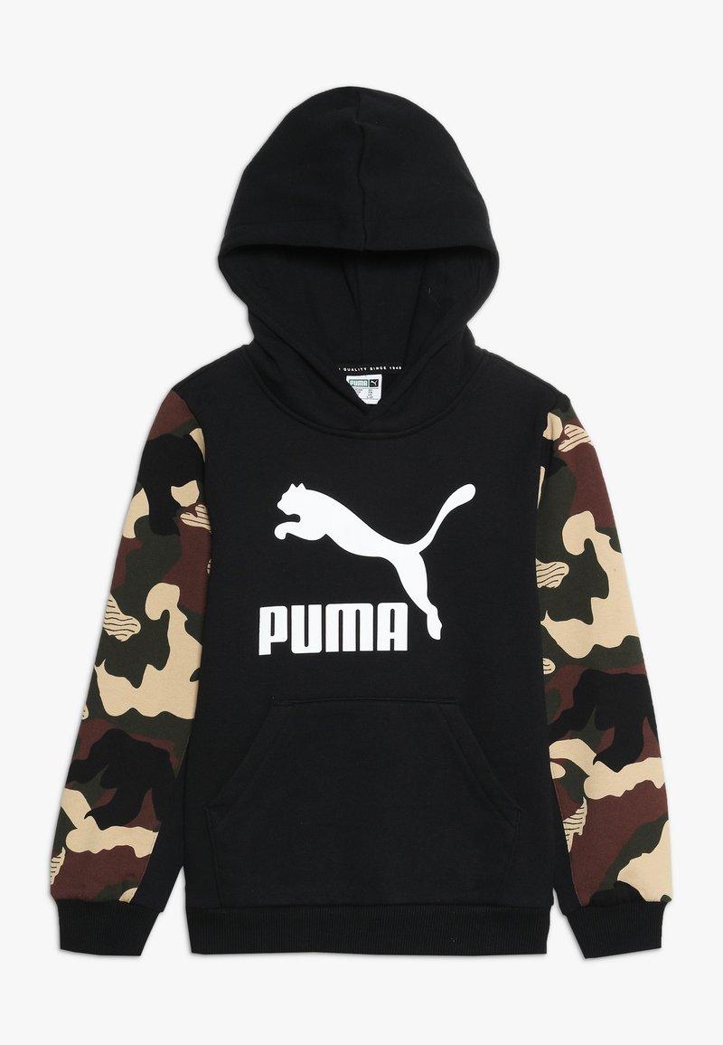 Puma - CLASSICS HOODY - Kapuzenpullover - puma black